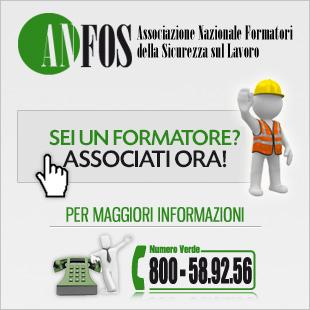ANFOS - Associati gratuitamente come formatore!