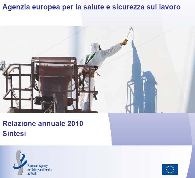 relazione annuale agenzia europea sicurezza e salute lavoro