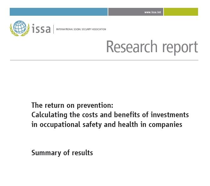 Ricerca ISSA costi benefici prevenzione