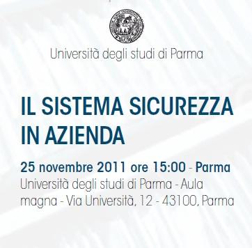 Convegno Università Parma