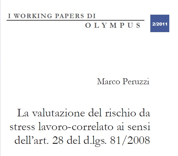 Working papers Olympus