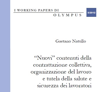 I Working Papers di Olympus